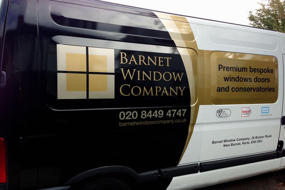 New Fleet of Vans - Barnet Window Company